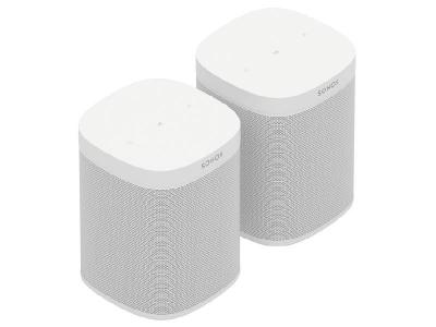 Sonos Two Room Set with Sonos One SL (W)