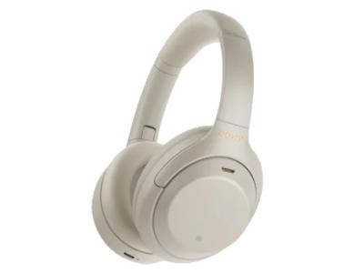Sony Wireless Noise Cancelling Over Ear Headphones In Silver - WH1000XM4/S