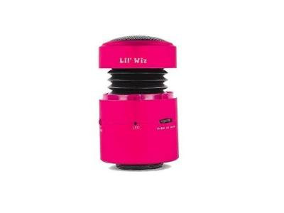 Lil Wiz Bluetooth Speaker in Pink - Lil' Wiz BT (P)