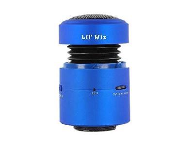 Lil Wiz Bluetooth Speaker in Blue - Lil' Wiz BT (Bl)